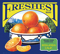 Orange Crate Label